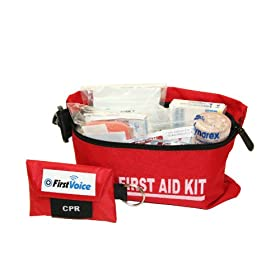 First Voice HIKE01 Hiker and Adventurer Basic First Aid Kit by First Voice