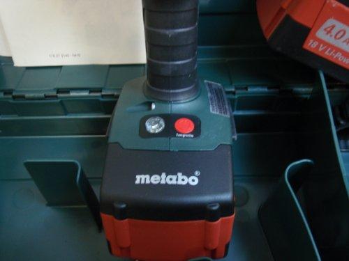 Metabo SB18 LTX 4.0 Cordless, Drill, Driver, 18-volt, Li-Ion Battery, 4.0 Extreme Battery