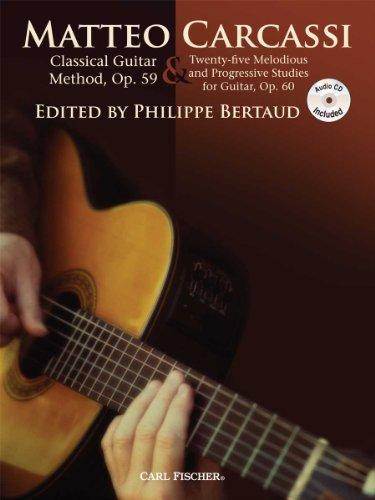 Carcassi Guitar Method Op59 25 Studies O