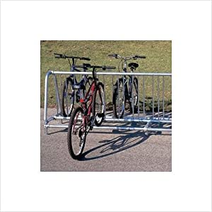Single Sided Traditional Style Bike Rack Size: 10' Add On Rack