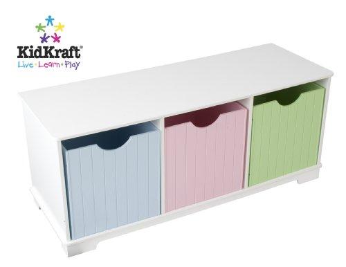 KidKraft Nantucket Pastel Storage Bench