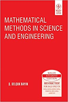mathematical methods in science and engineering by selcuk bayin pdf