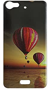 Vcare Shoppe Sparkle Effect Printed Mobile Back case cover for Reliance JIO LYF Water 11