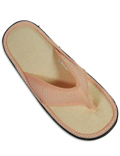 Cheap Private Label – Ladies Thong Slipper, Light Pink 24610 (B004V9WD74)