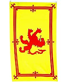 Scotland Rampant Lion Flag Polyester 3 ft. x 5 ft.