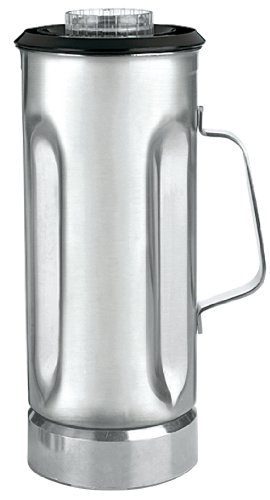 Waring Commercial CAC31 Stainless Steel Container Complete with Blade Assembly and Lid, 64-Ounce
