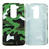 Heartly Army Style Retro Color Armor Hybrid Hard Bumper Back Case Cover For LG G2 Mini D618 Dual Sim - Army Green...