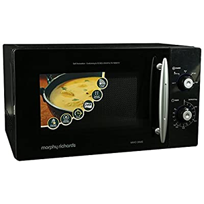 Morphy Richards 20MS 20-Litre Solo Microwave (Black)