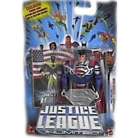 Buy Low Price Mattel Justice League Unlimited Anti-Amazo Superman Action Figure (B0009O1FAG)