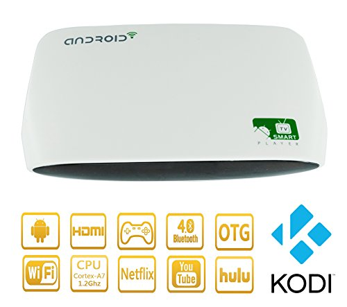 HONGTOP HX13 Quad Core 8GB Android 4.4 Smart TV Box Media Player KODI 16.0 Wi-Fi HDMI Full 1080P HD