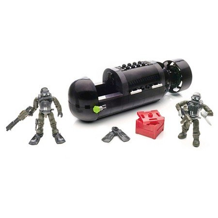 Mega Bloks Call of Duty Seal Sub Recon For 12 Years and Up