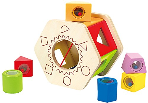 Hape Shake and Match Shape Sorter (7 Pieces)