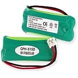 2.4 V 750MAH Cordless Telephone Battery for Empire CPH-515D CPH515D BATT-6010, V-TECH 3101, V-TECH 6030, V-TECH 6031, V-TECH 6032, V-TECH 6041, V-TECH 6042, V-TECH 6043, V-TECH 6051, V-TECH 6052, V-TECH 6053, V-TECH 6110, V-TECH 6113, V-TECH 8300, 2SN-AAA70H-S-X2F, LS6110, LS6113,AT3201, AT3211-2,BT8001/BT8300,BT18433/BT28433