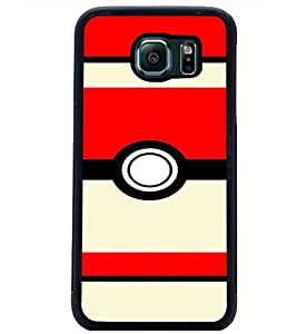 PrintDhaba Pattern D-2711 Back Case Cover for SAMSUNG GALAXY S6 (Multi-Coloured)