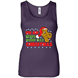 Merry Hump Day Christmas Camel Women's Tank Top