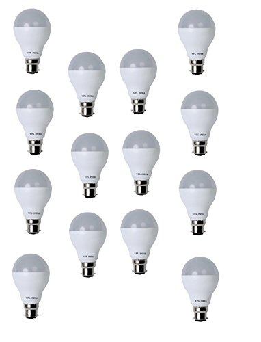 9 Watt LED Bulb (White, Pack of 14)