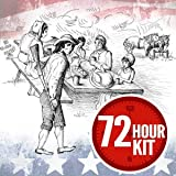 Patriot Pantry Emergency Survival Food Supply - 72 Hour Kit - 20 Servings