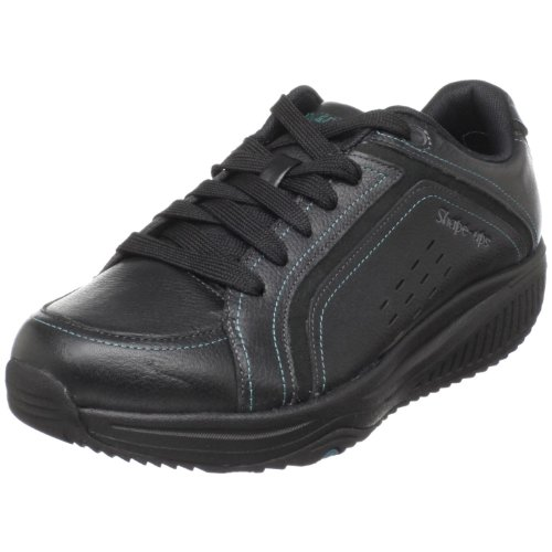 Skechers Women's Shape Ups Xw Steady Aim Black Walking Shoes 24873 6 UK
