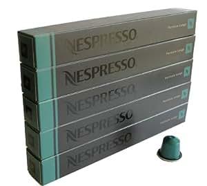 Nespresso Capsules Fortissio Lungo, Lot de 5, 50 Capsules