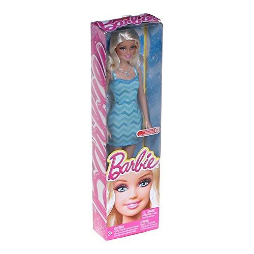 Barbie Exclusive Blue Chevron Dress