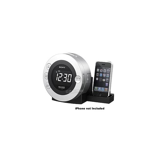 Sony Dream Machine FM/AM CD Clock Radio with Dock for iPod and iPhone™