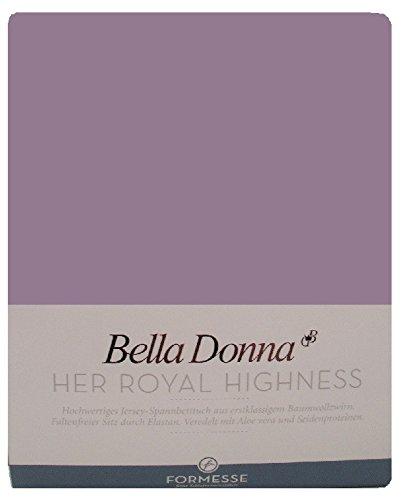 Bella Donna Jersey Spannbettlaken 1B Qualität 180/200 – 200/220cm – Azalee (0527)