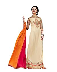 Surbhi Fashion-SDVI-SHEEBA10716-Designer Semi Stitched Dress Material