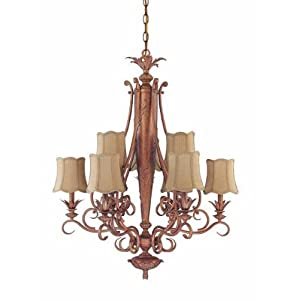 Nicholson Blown Glass Chandeliers  Sconces