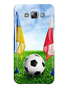 FurnishFantasy 3D Printed Designer Back Case Cover for Samsung Galaxy E7