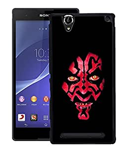 Crazymonk Premium Digital Printed Back Cover For Sony Xperia T2 Ultra