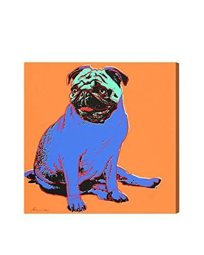 Oliver Gal Doggy Warhol II Canvas Art