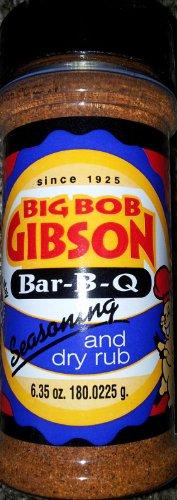 Big Bob Gibson Bar-B-Q Seasoning And Dry Rub