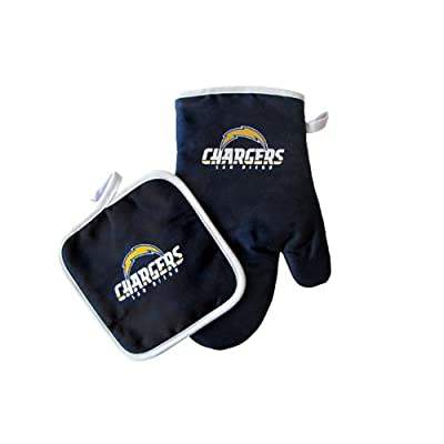 San Diego Chargers NFL Oven Mitt and Pot Holder Set