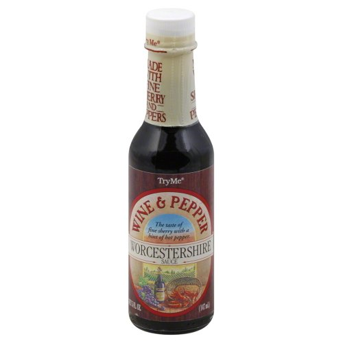 TryMe Sauce Worch Wine & Pepper 5 Oz
