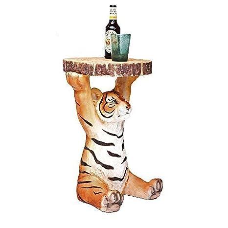 Tavolino a forma di tigre