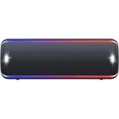 ソニー Sony ワイヤレスポータブルスピーカー Srs-xb32 : 防水 防塵 防錆 Bluetooth  重低音モデル ライティング機能搭載 2019年モデル ブラック