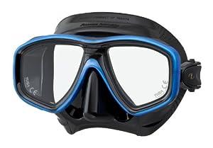 Tusa M-212 Ceos Black Silicone Scuba Diving Mask