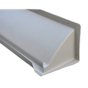 "DOORBRIM Light Duty Door & Window Header Rain Drip Guard, 60"" Length"
