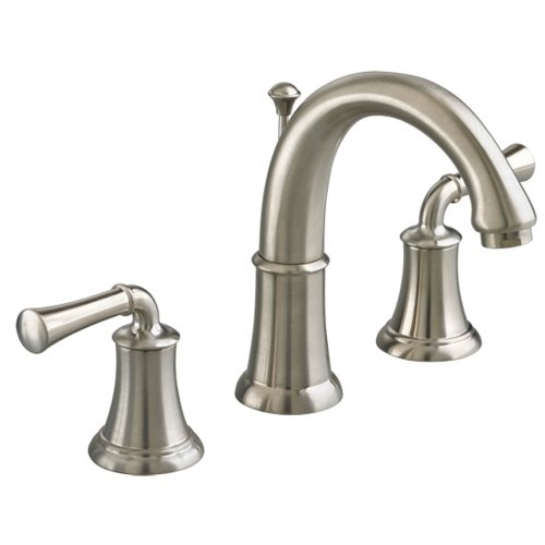 American Standard 7420.801.295 Portsmouth Widespread Bathroom Sink Faucet with High-Arc Spout, Satin Nickel (American Standard Faucet Nickel compare prices)