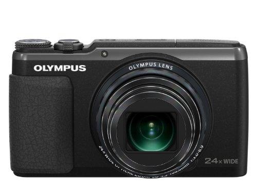 Olympus Stylus SH-50 Digital Super Zoom Camera - Black (16MP, 24x Wide Optical Zoom) 3 inch LCD