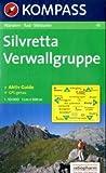 Silvretta, Verwallgruppe: Wander-, Bike- und Skitourenkarte. GPS-compatible. 1:50.000