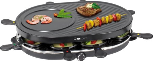 Clatronic RG 3090 8 Pans Raclette Grill