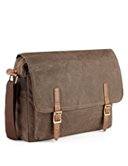 Pure Cotton Waxed Dispatch Bag