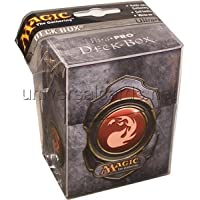 Ultra Pro Deck Box - Red Magic Mana Symbol 3
