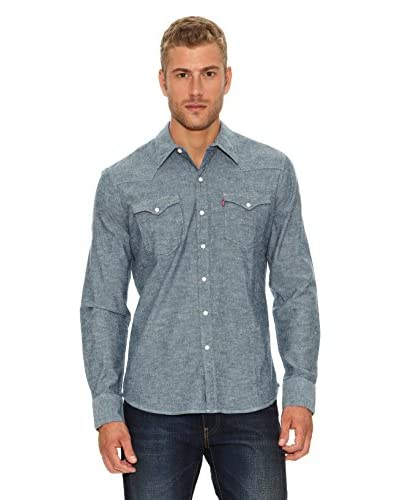 Levi´s Camicia [Blue Recycled Cha]