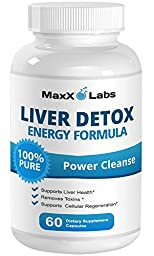 Best Liver Cleanse Supplements - New - Provides Liver Support - All Natural Liver Detox Formula Helps Metabolize Fat and Remove Toxins, Promotes Kidney & Gall Bladder Health - 60 Caps - 30 Day Supply