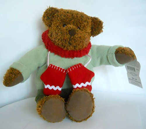 "Hallmark 12"" Teddy Mittens Plush Celebrating 100th Anniversary of the Teddy Bear 2002 - 1"