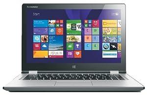 Lenovo Yoga 2 13.3-inch Multimode Touchscreen Laptop (Silver) - (Intel Core i3-4010U 1.7 GHz, 8 GB RAM, 500 GB HDD, Integrated Graphics, HDMI, FHD, Webcam, Bluetooth, Wi-Fi, Windows 8.1)