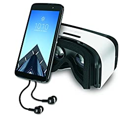 Alcatel IDOL 4 S Unlocked 4G LTE Smartphone with VR Goggles and JBL Headset - 32GB - 5.5\