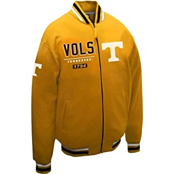 NCAA Tennessee Volunteers Mens Block Fleece Jacket by MTC Marketing